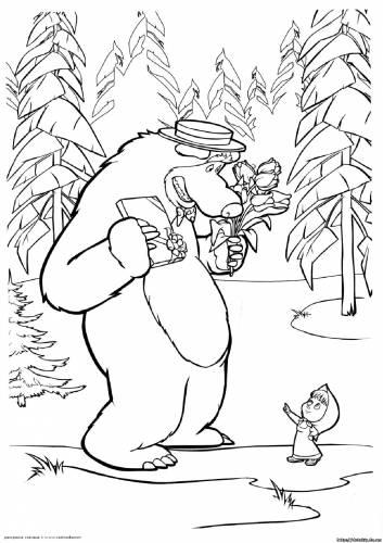 Мультики маша и медведь 0029